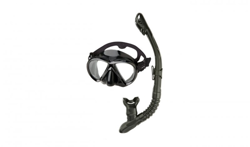 HEAD by Mares Marlin Purge Mask and Dry Snorkel Combo