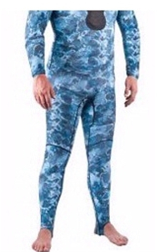 Mares Pure Instinct Mens Camo Blue Rash Guard Pants