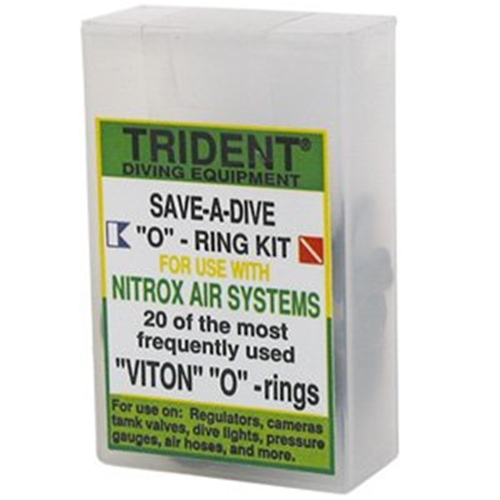 Trident Standard Save-A-Dive Viton O-Ring Kit For Nitrox Air Systems