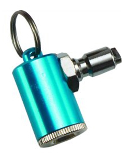 Trident Key Ring Tire Inflator to Low Pressure Reg Hose