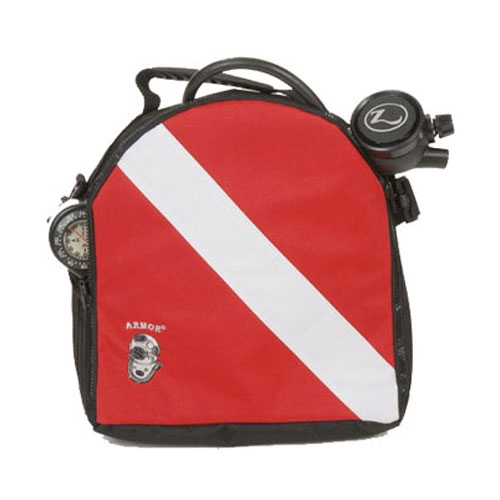 Armor Dive Flag Scuba Diving Regulator Bag