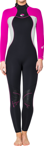 Bare 5mm Nixie Women's Fullsuit