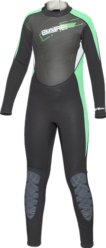 Bare 3/2mm Manta Youth Fullsuit