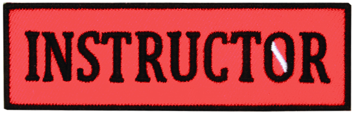 Innovative Emroidered Instructor Patch