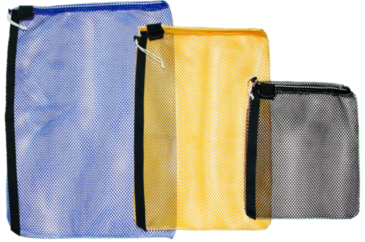 Innovative Large Mesh Drawsting Bag with Removable Strap