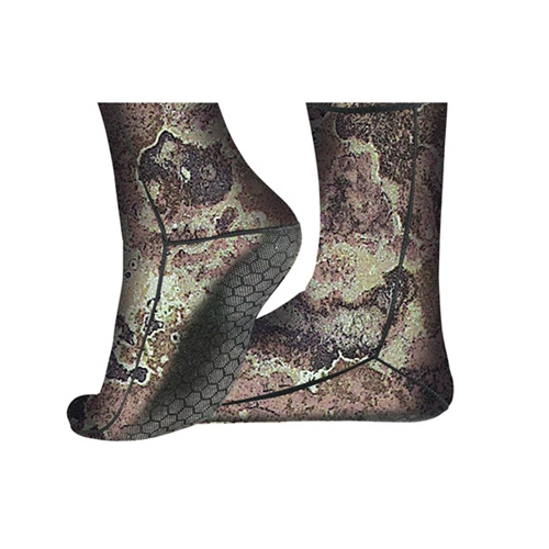 Cressi 2.5mm Camo Anti-Slip Neoprene Socks