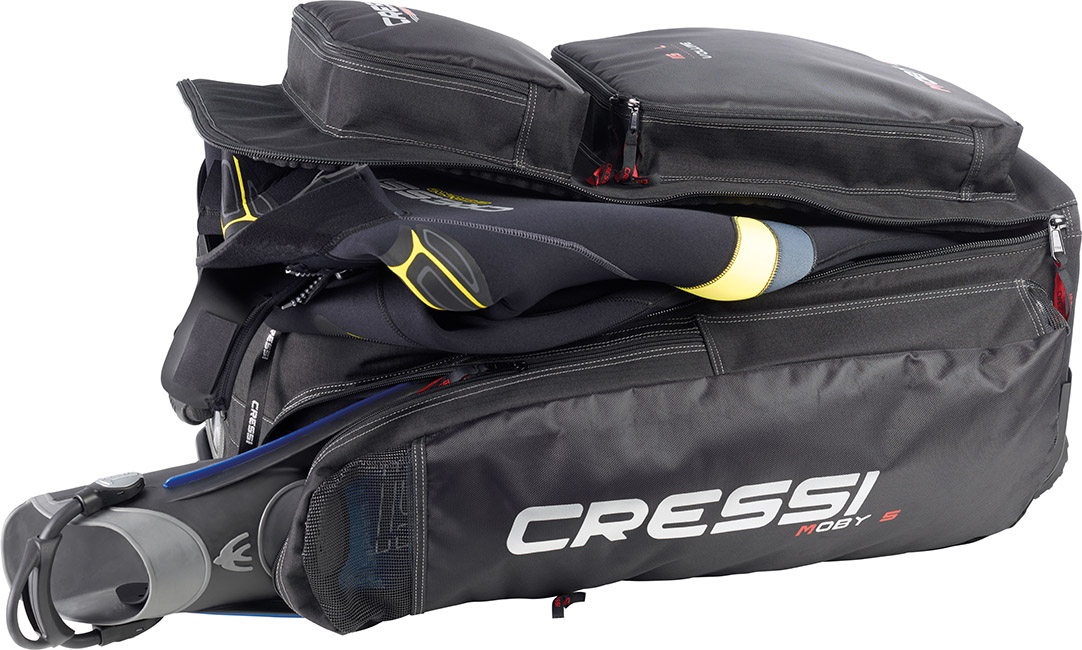 Cressi Moby 5 Rolling Bag Back Pack