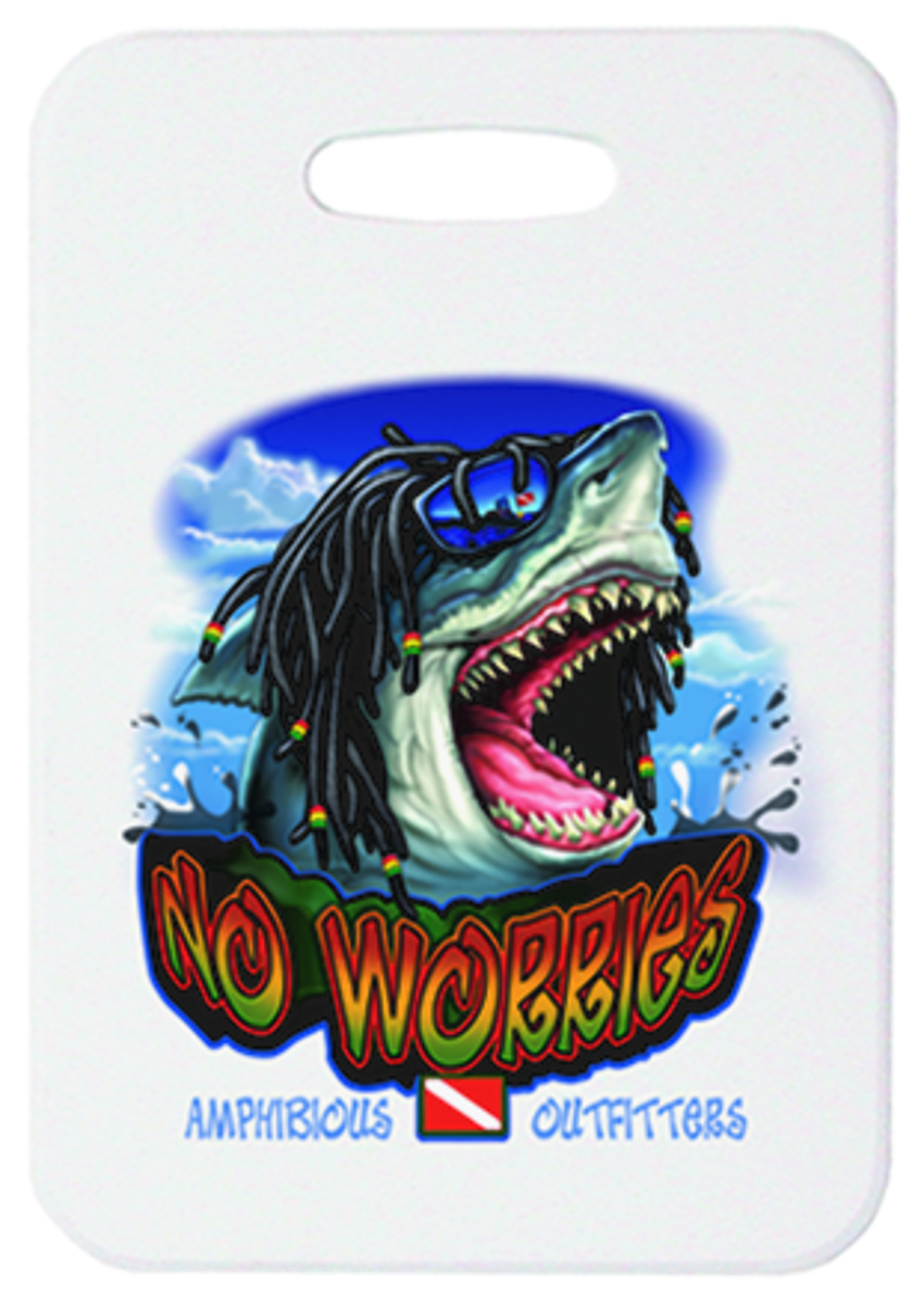 Amphibious Outfitters No Worries 2pc Luggage Tag Set