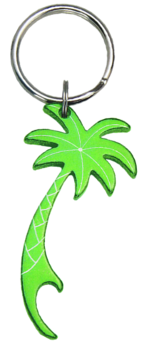 Palm Tree Key Chain Aquatic Shape Bottle Openers