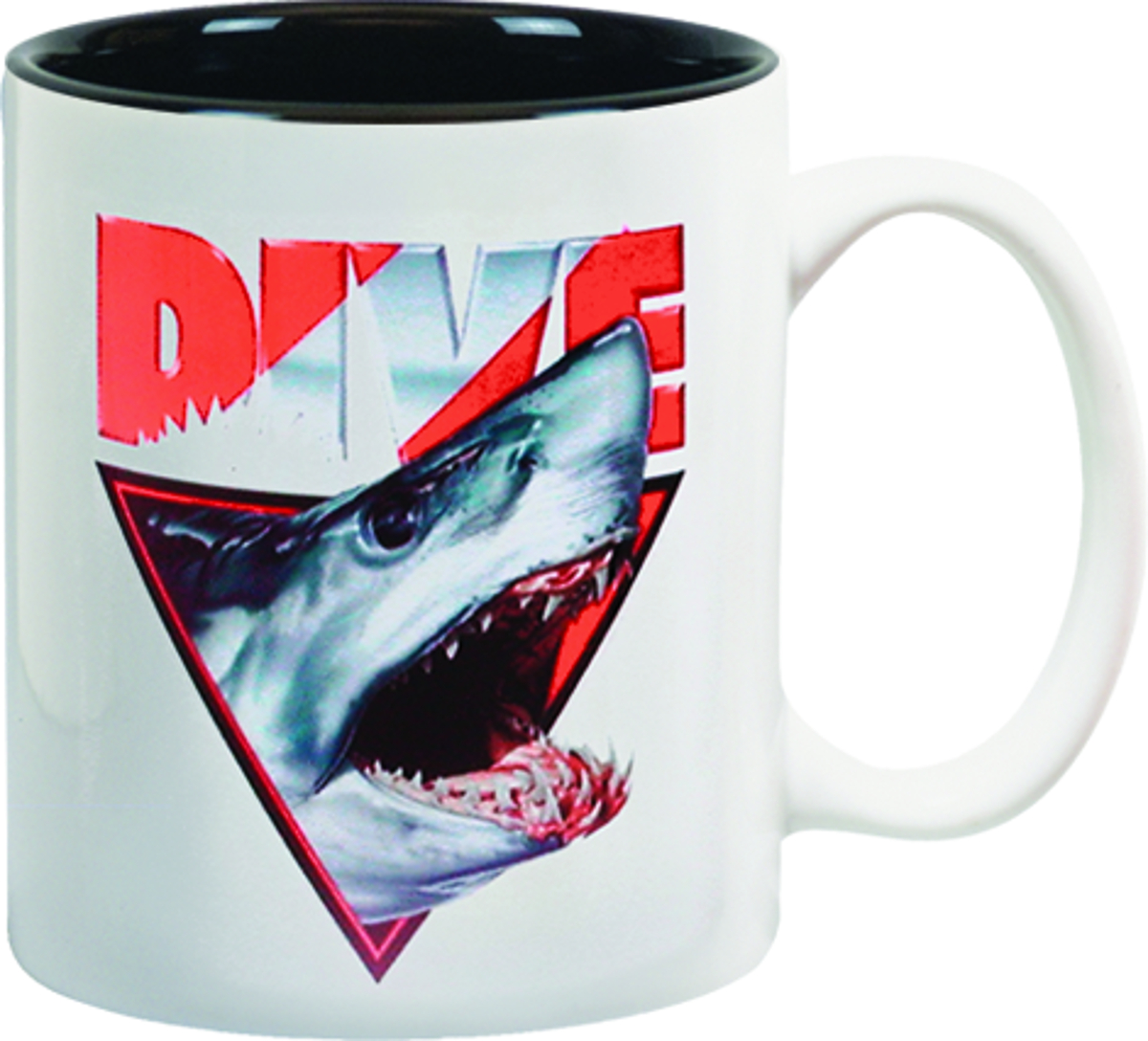Amphibious Outfitters Shark Head Coffee Mug by Fine Art Mugs