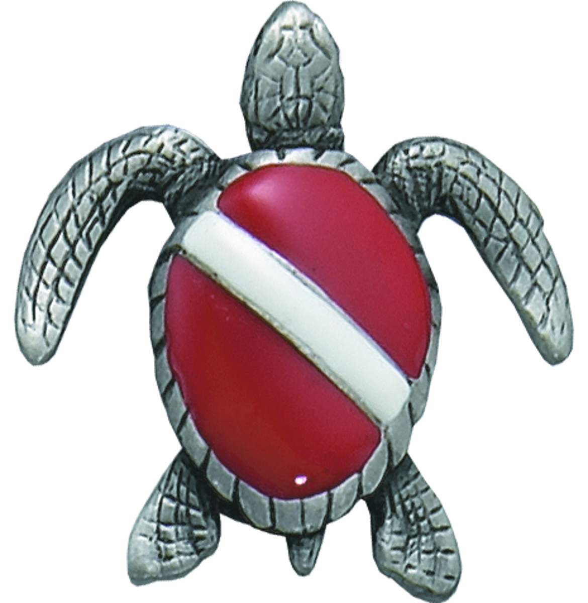 Innovative Turtle Pewter Pin