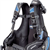 Cressi Men's Travelight Weight Integrated BCD