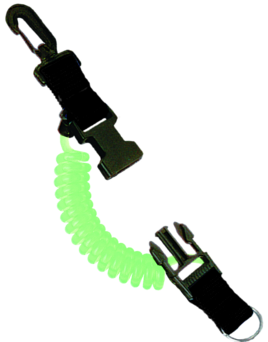 Innovative Translucent Snappy Coils Lanyard