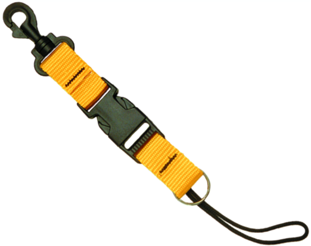 Innovative Split-Ring Lanyard Plastic Spring Swivel