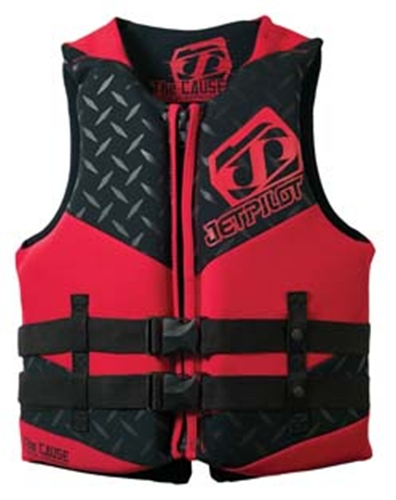 Jetpilot Cause Neo USCGA Vest (Medium/Black) - CLOSEOUT