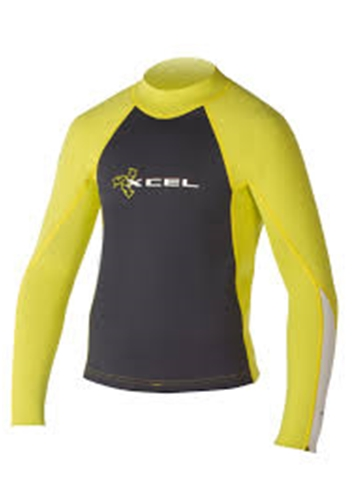 Xcel Youth's 1/.5mm SLX Long Sleeve Wetsuit Top