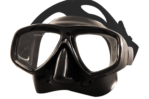 Tilos Fantasia Tempered Lens Scuba Diving 2-Window Mask