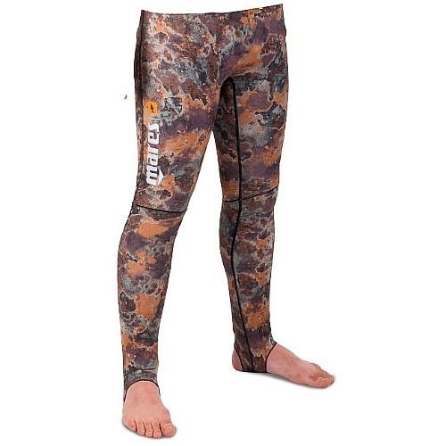 Mares Pure Instinct Mens Rash Guard Pants Camo Brown