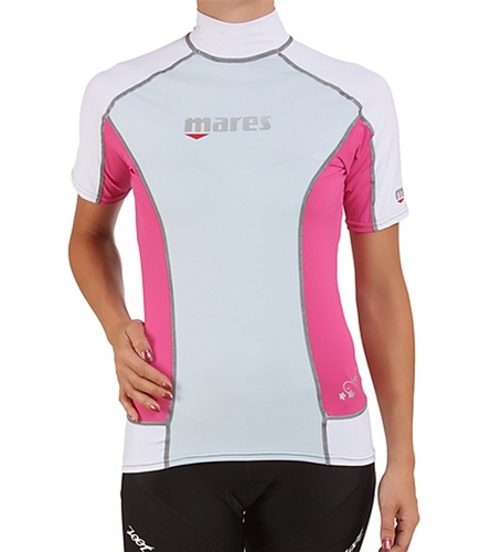 Mares Womens Trilastic Short Sleeved Rashguard