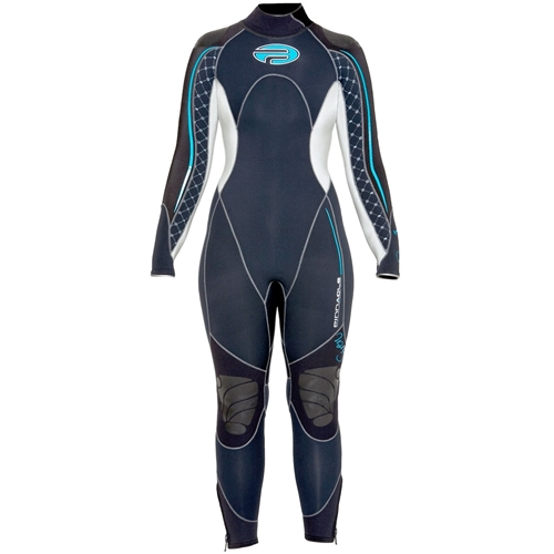 Pinnacle Siren Womens 3mm Warm Water Wetsuit