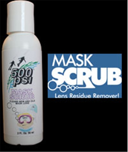 500 PSI Mask Scrub, 2 fl. oz. Bottle