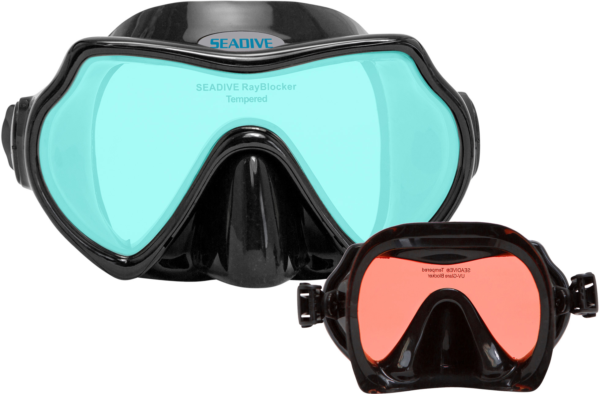 Seadive Eagleye TrueColor-HD Rose Inside Mask