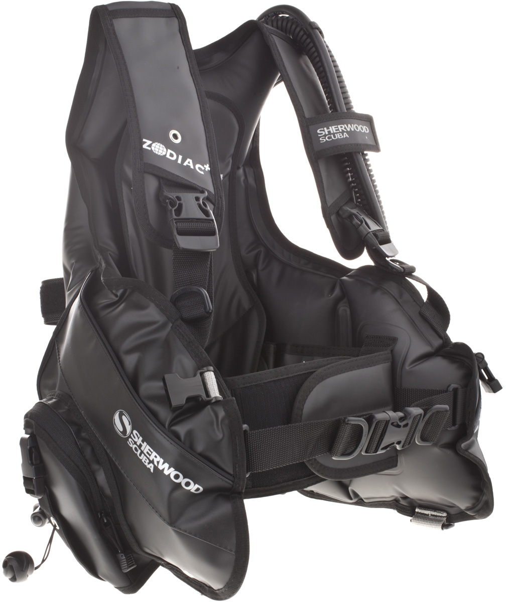 Sherwood Zodiac Jacket Style BCD with Gemini Inflator Air 2