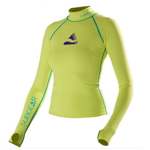 SubGear Women's Pebble Long Sleeve Rashguard