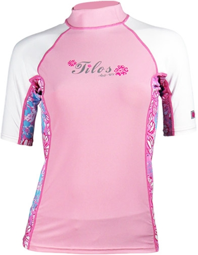 Tilos Womens 6oz. Anti-UV Short-Sleeved Rashguard