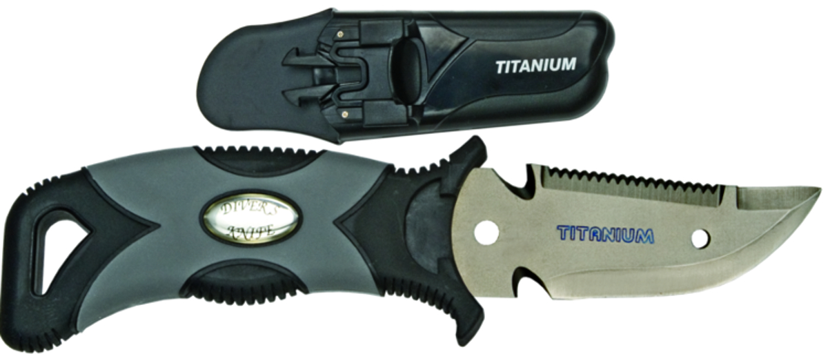 Innovative Titanium 3 in. Scuba Diving BCD Knife