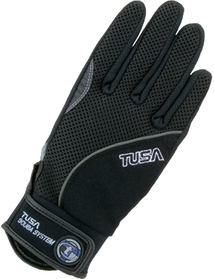 TUSA Tropical Dive Glove Velcro Lock Closure