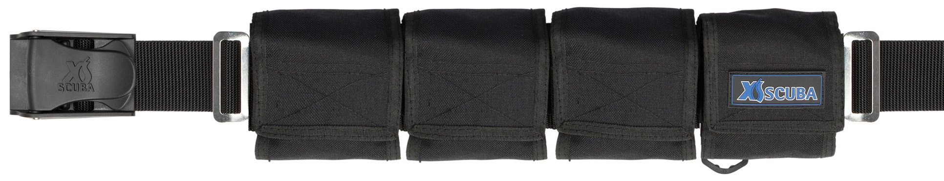XS Scuba Zippered 4 Pocket 20lb Weight Belt