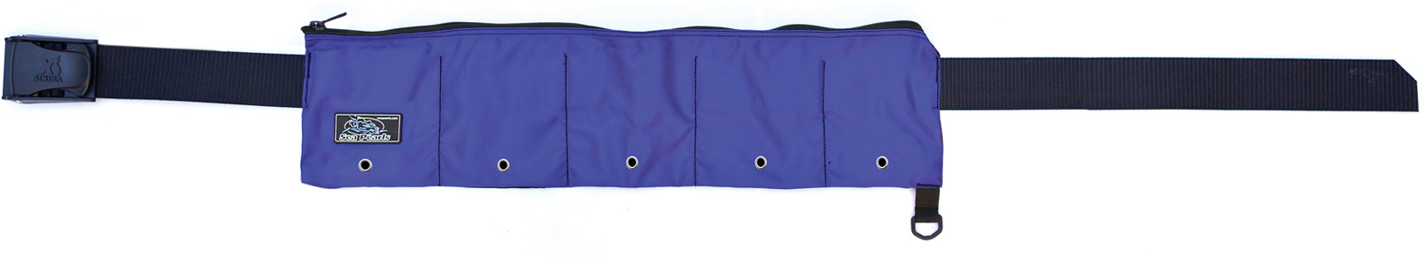 XS Scuba Zippered 5 Pocket 25lb Weight Belt