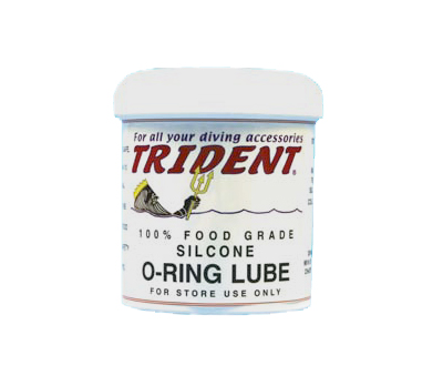 Trident O Ring Lube 16 oz Silicone Clear