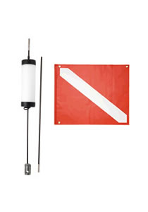 Dive Flag Stick Float Site Marker