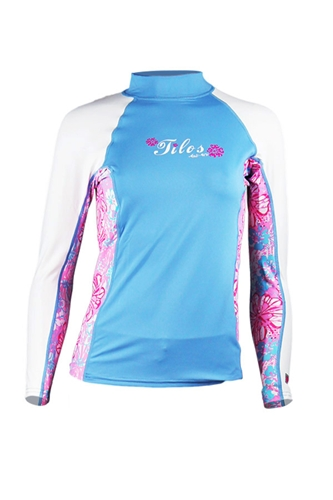Tilos Womens 6oz. Anti-UV Long-Sleeved Rashguard