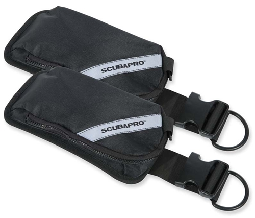 ScubaPro X-One Weight Pocket Kit (Sold as Pair)