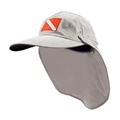 Trident Long Billed Outdoor Dive Flag Hat with Sun Shade