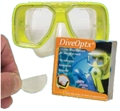 Innovative DiveOptx Reusable Bifocal Lenses
