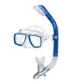 HEAD by Mares Tarpon Mask and Barracuda Dry Snorkel Combo
