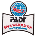 PADI Open Water Diver Patch