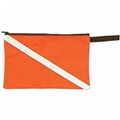 Trident Dive Flag Zippered Document Bag