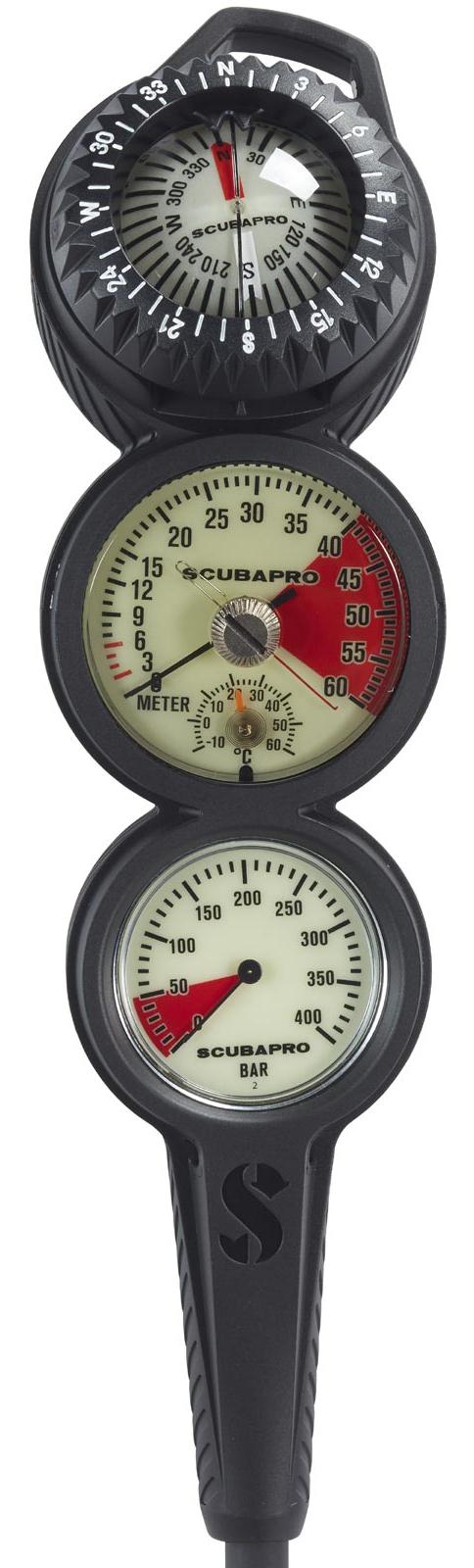 Scubapro 2 Gauge In-Line Console
