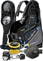 Aqualung Essential Pro HD BCD, Titan Reg, i300C Comp, Octo Package