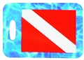 Innovative Dive Flag 2pc Luggage Tag Set
