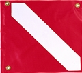 Innovative Medium PVC Dive Flag with Stiffener
