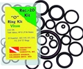 Innovative Recreation Diver 20 Piece O-Ring Viton Kit