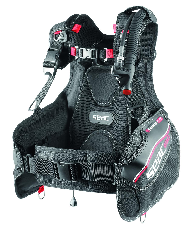 LO3  SEAC JACKET BCD EGO Cordura 1000 new 2021   n° 7 sizes