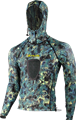 Tilos Spearfishing Shirt with Hood and Padded Chest Loading Pad