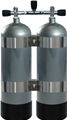 XS Scuba X-Series Twin 119 Steel Cylinder Packages